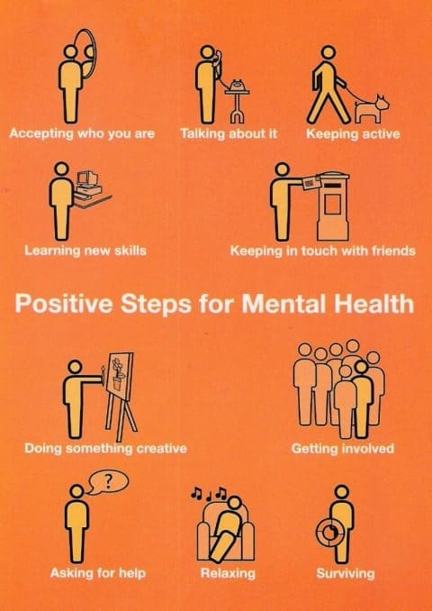 positive steps for good mental health