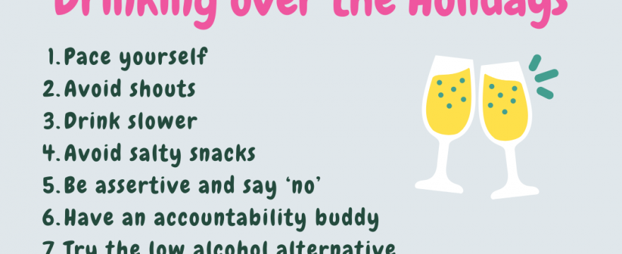 11Tips To Slow Down Your Drinking and Enjoy The Seasonal Celebrations