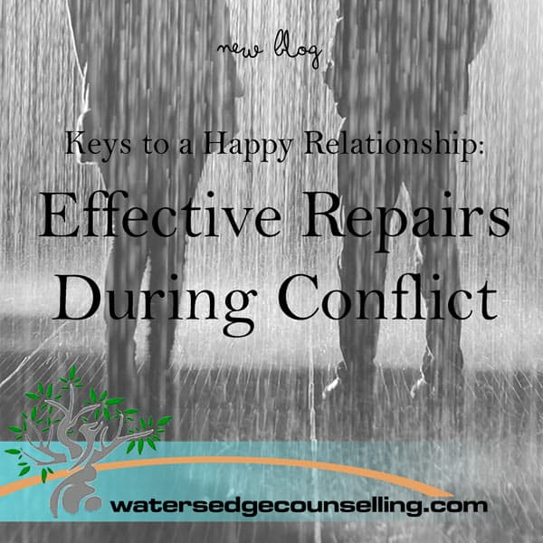 Keys to a Happy Relationship: Effective Repairs During Conflict