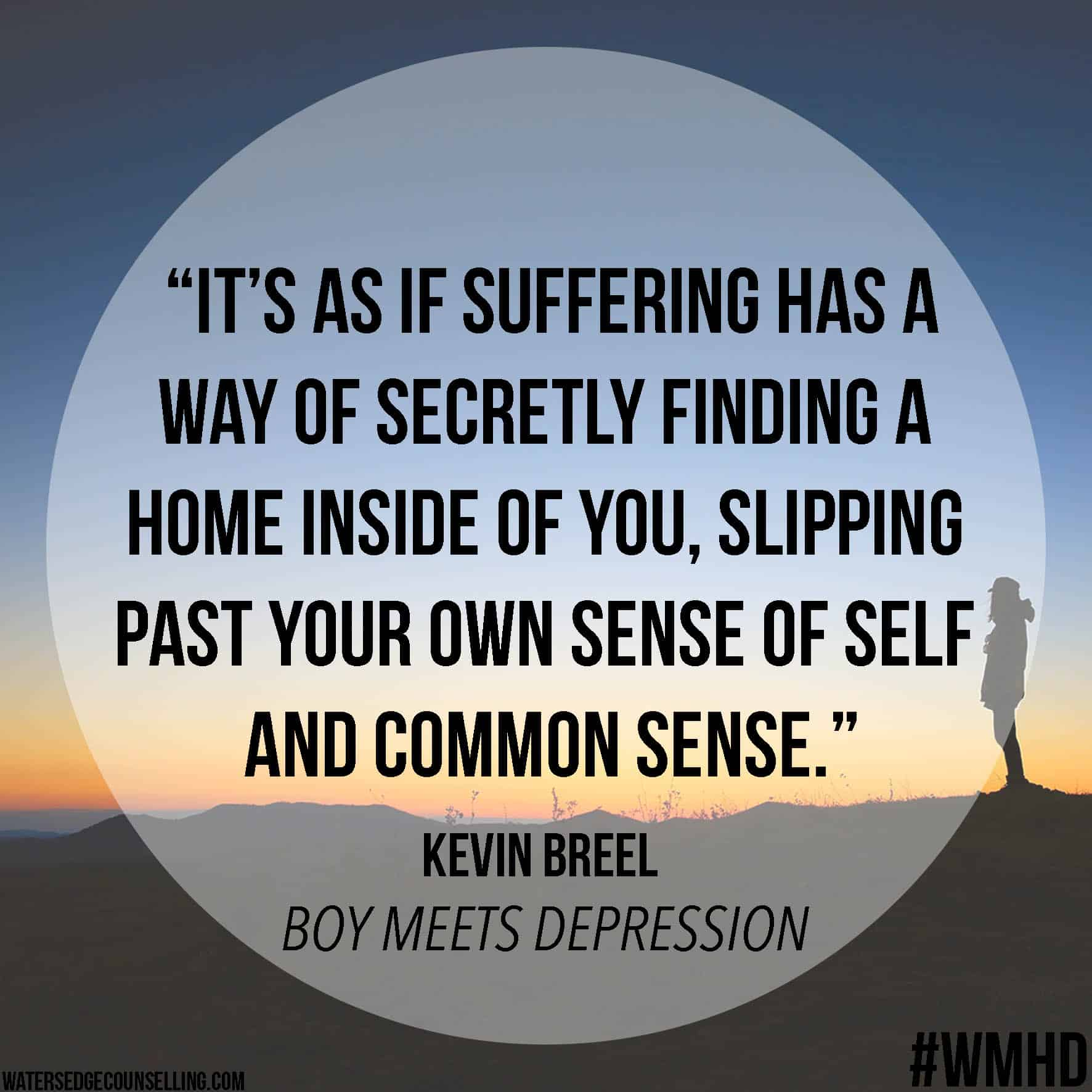 Boy Meets Depression - Watersedge Counselling