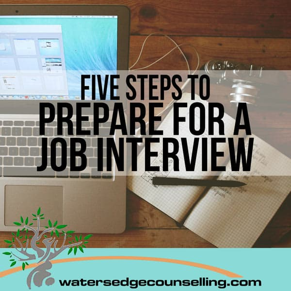 Five Steps to Prepare For a Job interview