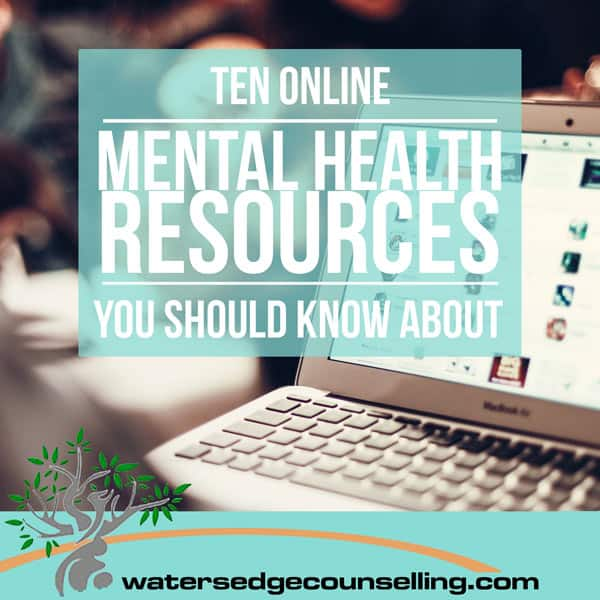 10 Online Mental Health Resources You Should Know About