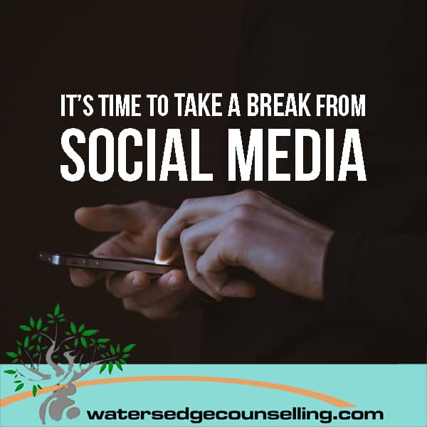 It's time to take a break from social media