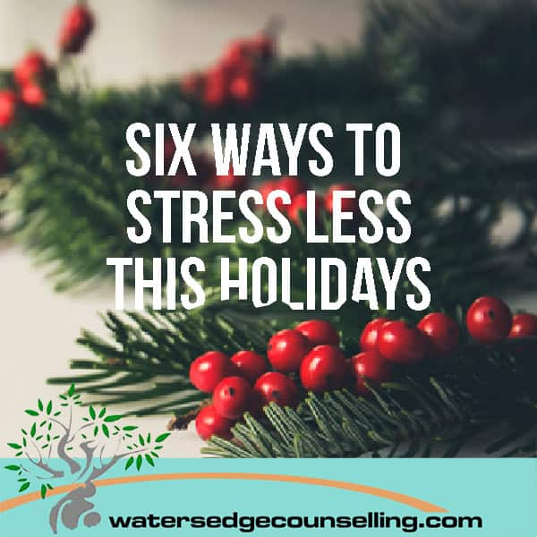 Six ways to stress less this holidays