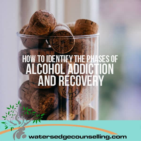 How to identify the phases of alcohol addiction and recovery