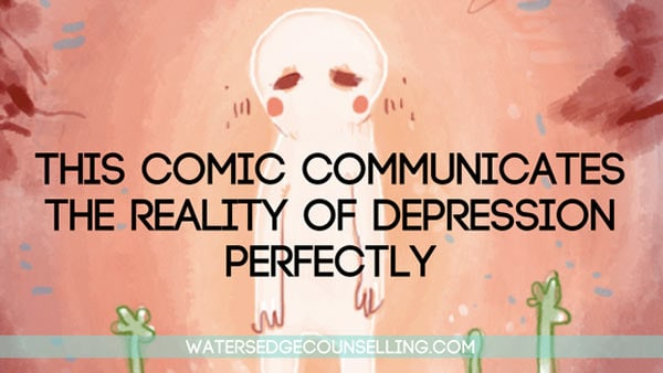 This comic communicates the reality of depression perfectly