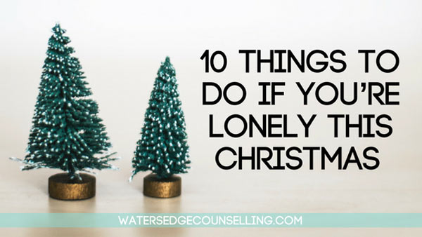10 Things to do if you're lonely this Christmas