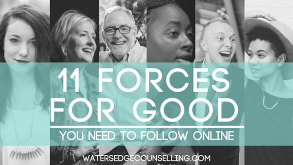 Eleven forces for good you need to follow online