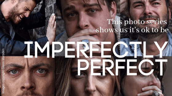This new photo series shows us it's okay to be 'Imperfectly Perfect' with mental illness