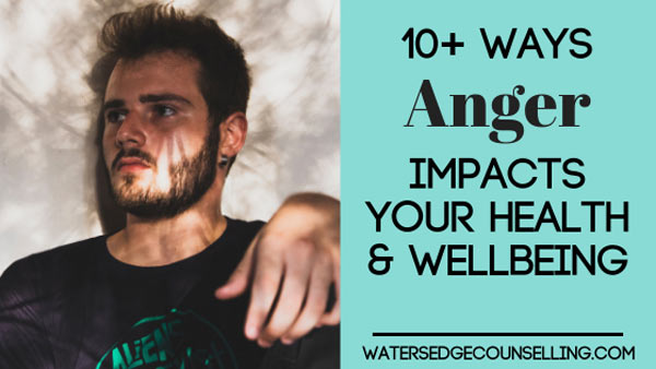 10 + ways anger impacts your health and wellbeing