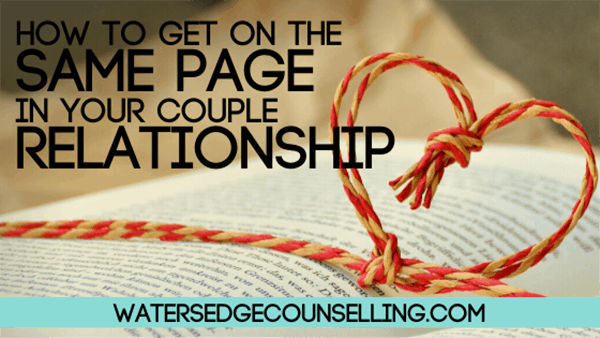 How to get on the same page in your couple relationship