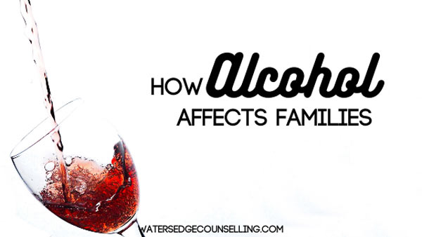 How Alcohol Affects Families